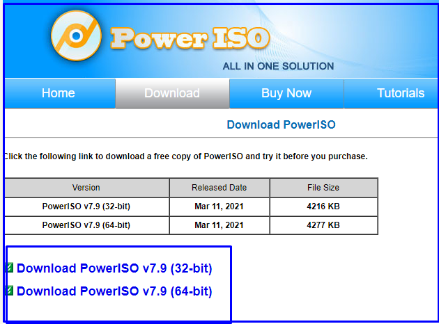 Power ISO download for Create Bootable Pendrive