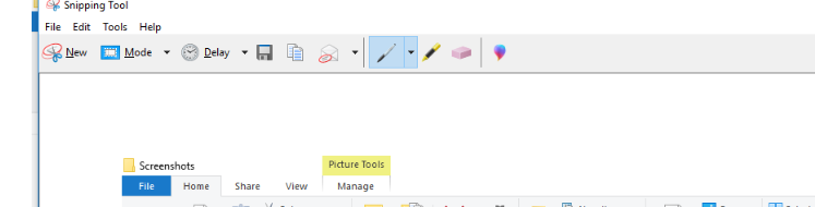 snipping tool page
