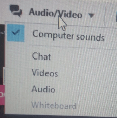 Audio Chat Options In teamViewer