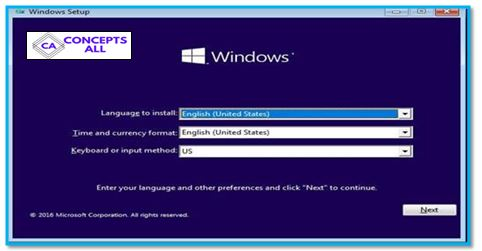 Language options for installations