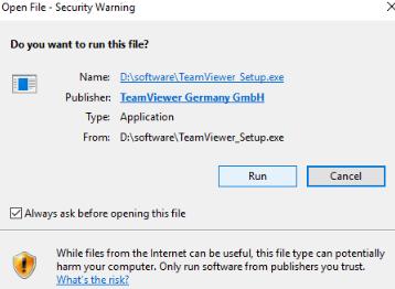 Teamviewer Install