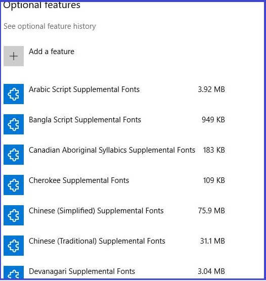 Download all language fonts
