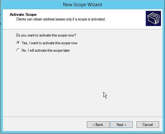 Activate  Scope