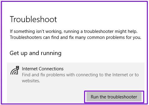 Run-troubleshooter-for-solving-DNS-server-Not-responding