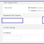 Blacklist on Tenda Router
