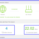 Connected Device Information Tenda N301 Router