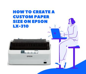 create a custom paper size