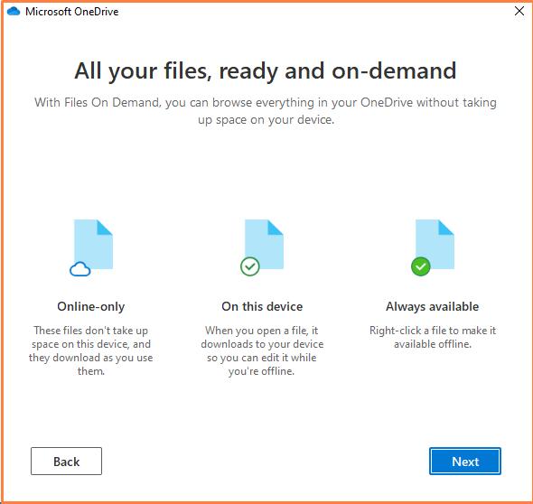 All Your Files Demand Option to setup files