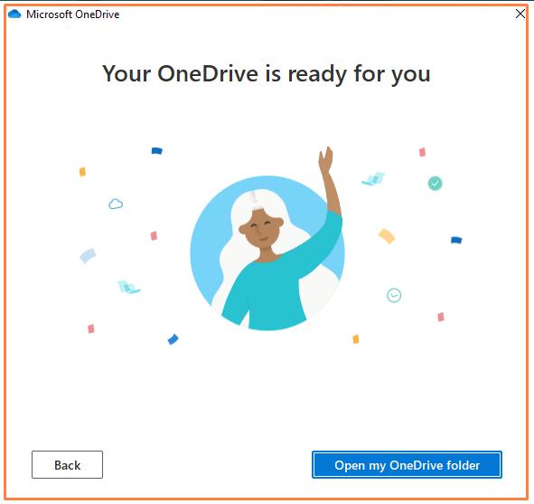 OneDrive Ready options