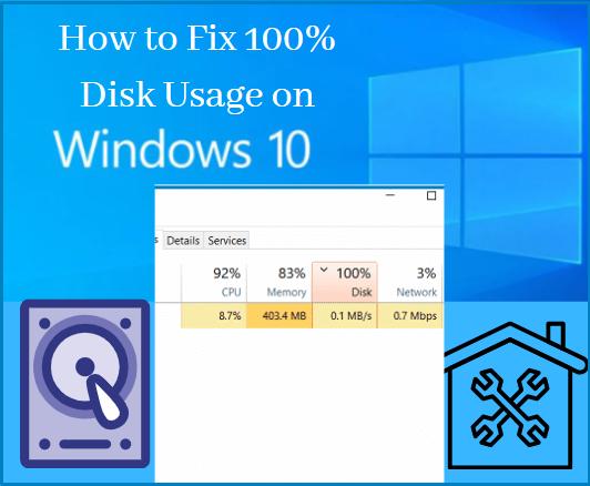 100%-Disk-usage-on-WIndows-10
