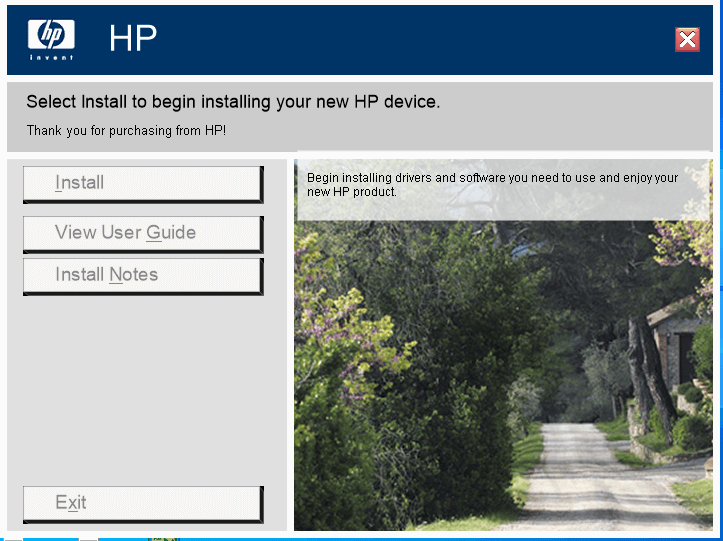Install of HP 1020 plus drivers