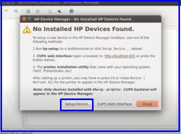 setup device ubuntu