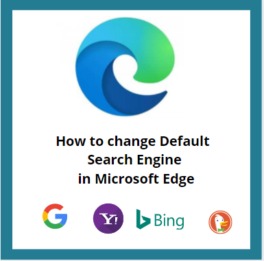 How to change Default Search Engine in Edge