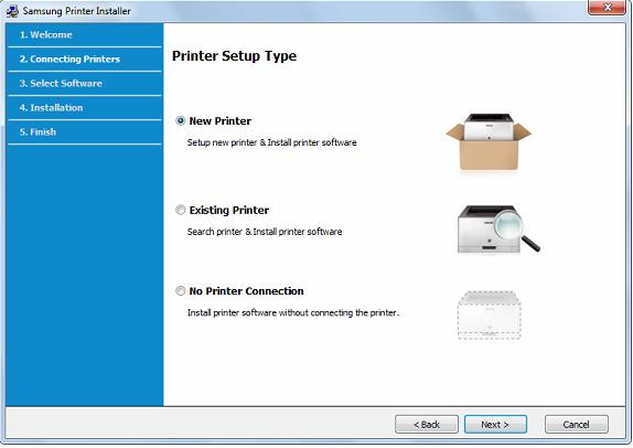 New Printer Samsung