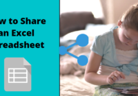 How to share excel spreadsheet