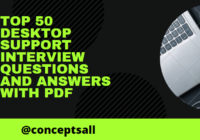Desktop Support Interview Questions and Answers