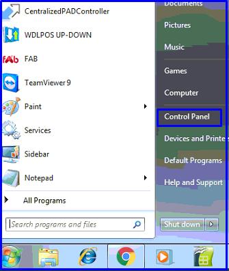Star options on windows 7