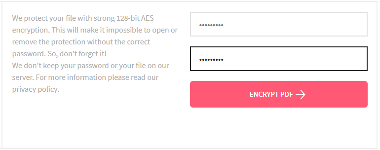 online free pdf password