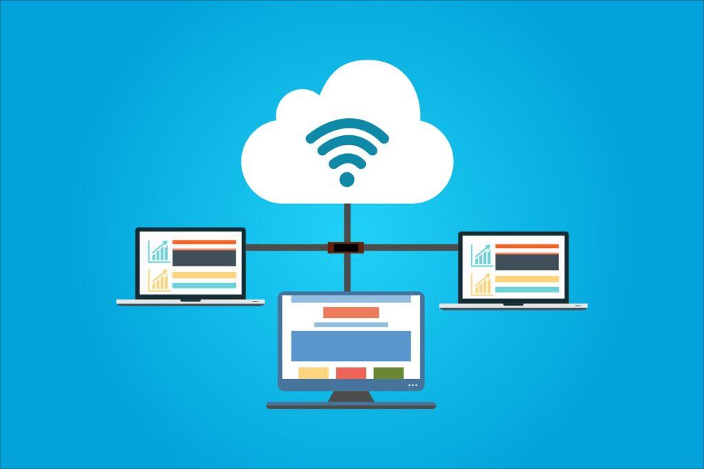 uses of internet in cloud
