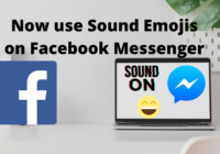How to use Sound Emojis on Facebook Messenger