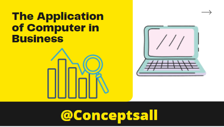The Application of computer in Business