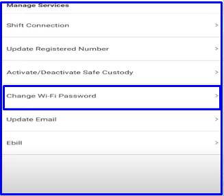 change Airtel WiFi Password using thanks app