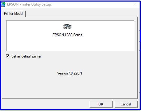 Epson driver setup ok