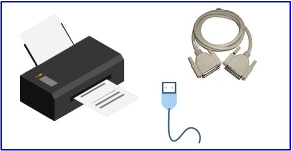 Printer cable change