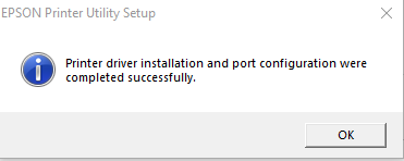 Printer drivers install